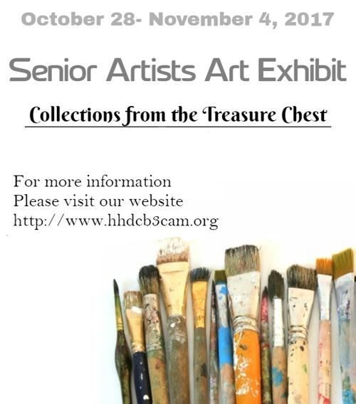 2017 Senior Artists' Art Exhibit